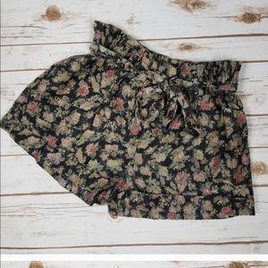Staring at Stars Floral Paper Bag Shorts!